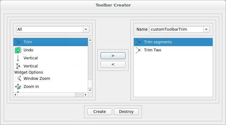 Customizing LibreCAD's Interface — LibreCAD 2 2 0 documentation